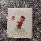2010 Hallmark Charlie Brown on Ice The Peanuts Gang Magnetic Ornament Series #4