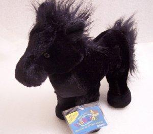 Webkinz Black Stallion Horse Sealed Tag New Code HM145