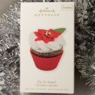 2010 Hallmark 1st Oh, So Sweet! Christmas Cupcakes New Series # 1 Keepsake Ornament