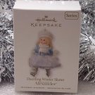 Hallmark 2010 Dazzling Winter Skater Madam Alexander # 15 Ornament New