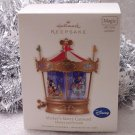 2010 Hallmark Mickey's Merry Carousel Disney's Mickey & Friends New Ornament