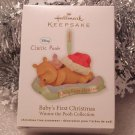 2011 Hallmark Baby's First 1st Christmas Winnie the Pooh Ornament New