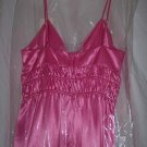 ABS by Allen Schwartz Pink Satin Dress Quilted Bodice Size 8 Made in USA New NWT
