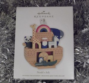 2011 Hallmark Noah's Ark God's Promise Ornament New
