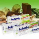 Sudantha Herbal Natural Toothpaste Total Oral Care/Ayurveda Non Fluoride 80g