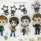 Paranormal Chibis Acrylic Charms