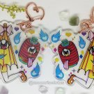 Cute Kasa-obake and Chōchin obake Holographic Acrylic Charm