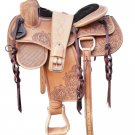 Handmade Western Horse Tack Pleasure Trail Saddle , Handmade Horse saddle