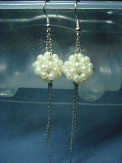 eBeauty*E0003 - Pearl Ear Rings
