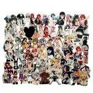 100pcs Sexy Anime Graffiti Funny Sticker Welfare for DIY  Adult Otaku Mobile Phone Laptop