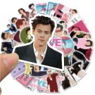 50Pcs/ Famous British singer Harry Styles Stickers For Laptop Luggage Bicycle Phone Case