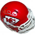 Patrick Mahomes #15 Kansas City Chiefs signed autographed NFL Football Mini Helmet COA Certified