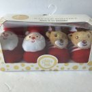 Little Me - 2 Pairs Rattle Booties Christmas Gift Set NEW