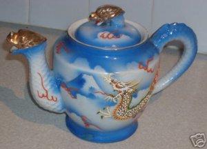 Vintage ACME Dragon Teapot ~ Mt. Fuji