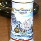 Free Shipping 1992 German Stein Illustrated by  W F Crailsheim Vikings in America