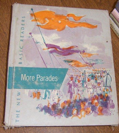 Free Shipping 1957 Basic Reader More Parades Illustrated by Herbert Danska
