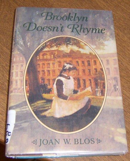 Free Shipping Brooklyn Doesn't Rhyme / Joan W. Bloss 1994 1st Edition / Polish Immigrants