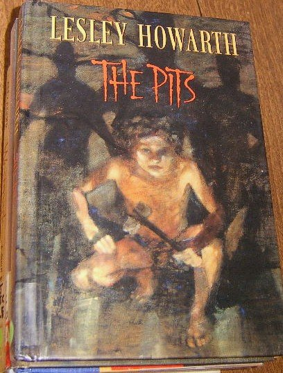 Free Shipping The Pits by Lesley Howarth / 1996 First U.S. Edition Stone Age Iceman