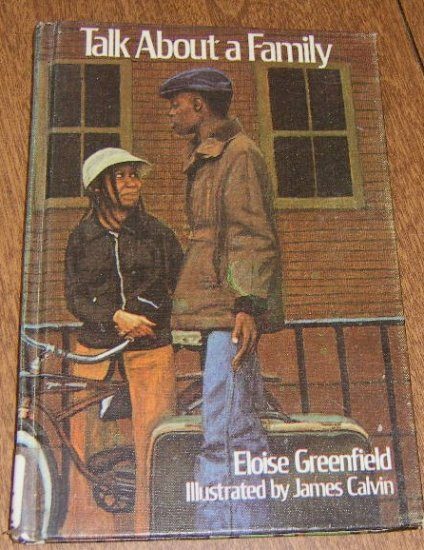 Free Shipping Talk About a Family by Eloise Greenfield / Illus by James Calvin / 1978