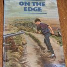 1985 On the Edge by Gillian Cross / Young Adult Book Free Shipping