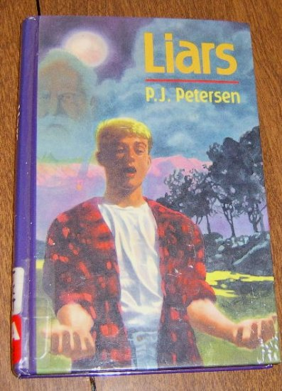 1992 / Liars by P.J. Peterson HC Good condition Free Shipping