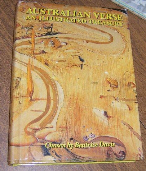 Free Shipping Australian Verse An Illustrated Treasury  Chosen by Betrice Davis /  300+ pages HC DJ