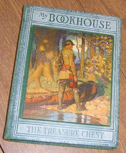 Free Shipping 1928 My Bookhouse The Treasure Chest / Olive Beaupre Miller / Ex Cond
