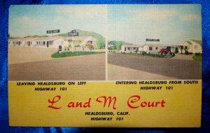 L and M Court in Healdsburg, CA