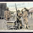 Un-Used WW1 RPPC American Soldiers Manning Anti Aircraft Gun.