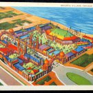 1933 Color Postcard Chicago IL Century of Progress World Fair- Oriental Village