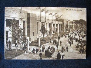 Description 1924 British Empire Exhibition Aerial View Fleetwood Publishing English Postcard