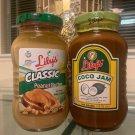 Lily's Original Peanut Butter Spread & Lily's Coco Jam Spread Set