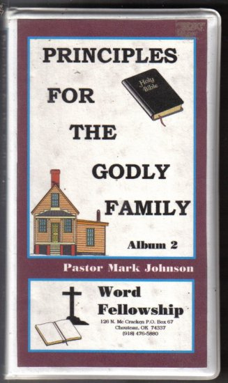 Principles For the Godly Family album 2