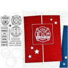 First Responders Metal Cutting Dies and Stamps Stencils for DIY Scrapbooking DIY Paper Cards