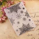 Snowflake Plastic Embossing Folders for DIY Scrapbooking Paper Decoration Card Making