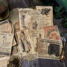 Handmade Coffee Dye Paper for Junk Journal Bullet Journal DIY Craft Card Making