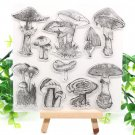 Mushroom Transparent Clear Silicone Stamps for DIY Scrapbooking Card Making Kids