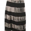 Jones New York NEW Black White Silk Skirt SZ 20W $139