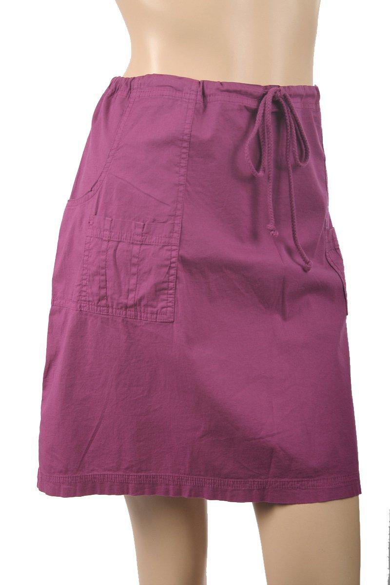 XCVI NEW Pink Drawstring Mini Skirt Size L $48