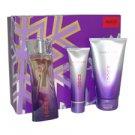 Pure Purple Hugo Boss 3 pc Women Gift Set