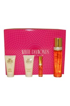 White Diamonds Elizabeth Taylor 4 pc Gift Set