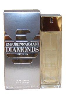 Emporio Armani Diamonds 2.5 oz EDT Spray Men NEW