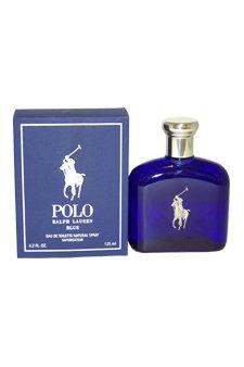 Ralph Lauren Polo Blue 4.2 oz EDT Spray Men NEW