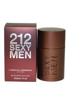 Carolina Herrera 212 Sexy Men 1.7 oz EDT Spray Men