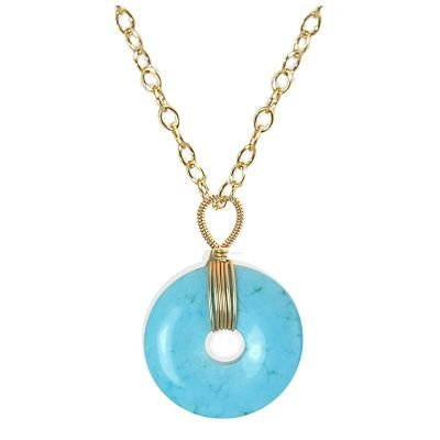 NEW 925 Sterling Silver Turquoise  Necklace Pendant