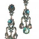 Kirks Folly NEW  Austrian Crystal Chandelier Earrings