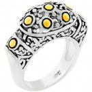 NEW 14k Gold White Gold Antique Style Ring