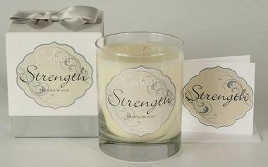 Cadeau Soy Strength Sandlewood Jar Candle 10.5 oz