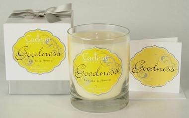 Cadeau Soy Goodness Vanilla & Honey Jar Candle 10.5 oz
