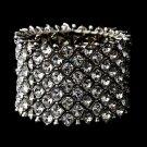 Silver Genuine Crystal Stretch Bracelet